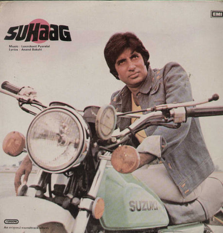 Suhaag 1970 Bollywood Vinyl LP