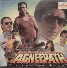 Agneepath 1990 Bollywood Vinyl LP