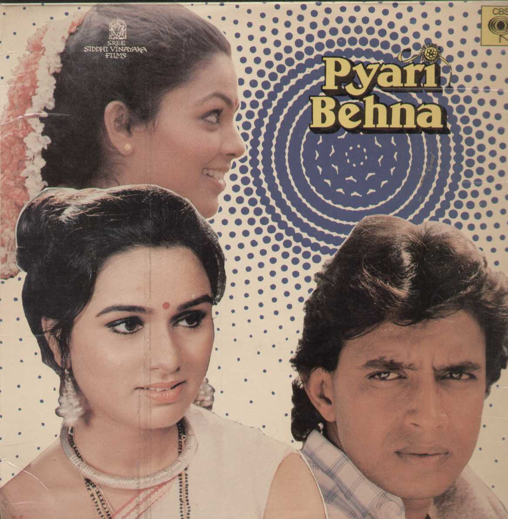 Pyari Behna 1985 Bollywood Vinyl LP