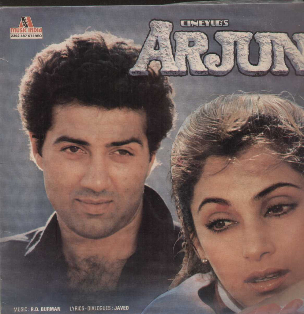 Arjun 1980 Bollywood Vinyl LP