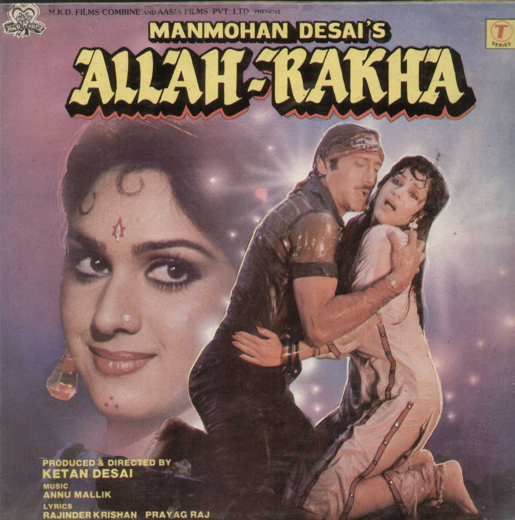 Allah-Rakha 1986 Bollywood Vinyl LP