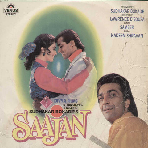 Saajan 1991 Bollywood Vinyl LP