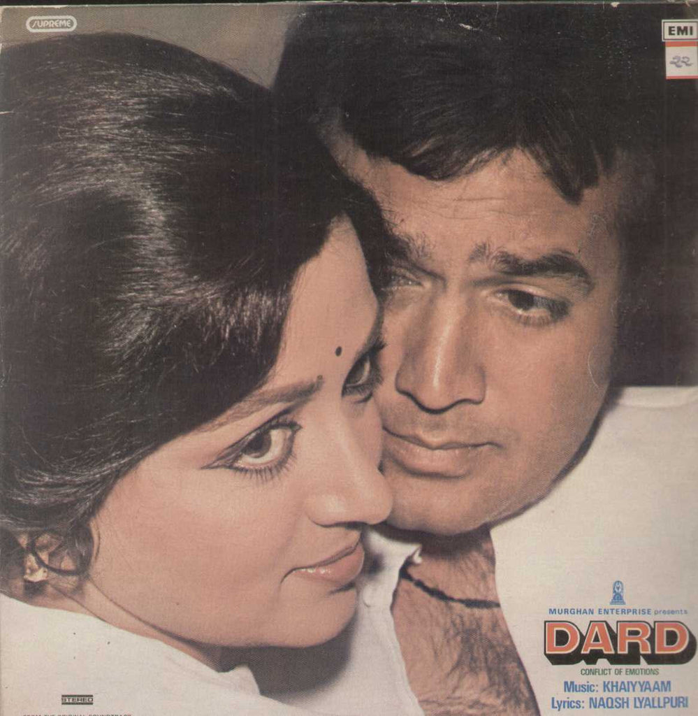 Dard 1960 Bollywood Vinyl LP