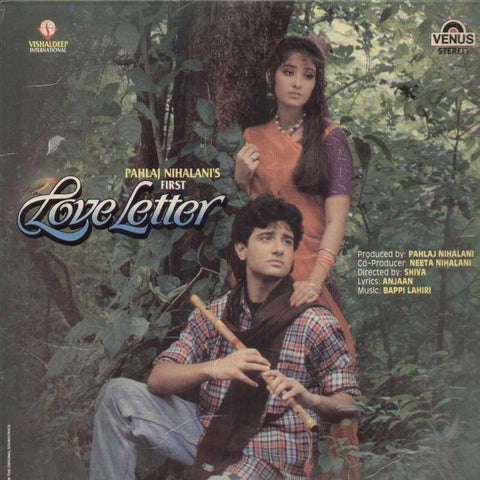Pahlaj Nihalani's First love Letter 1991 Bollywood Vinyl LP