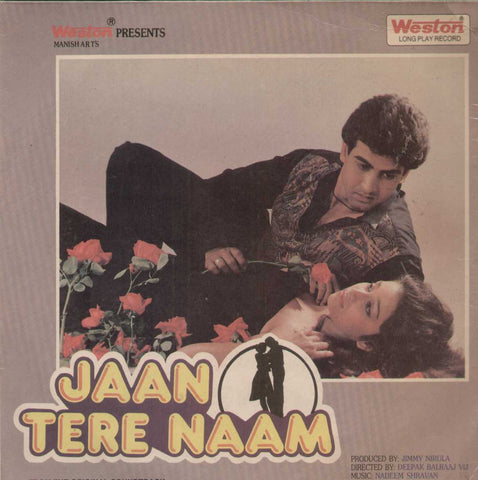 Jaan Tere Naam 1992 Bollywood Vinyl LP