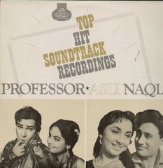 Professor And Asli Naqli Bollywood Vinyl LP