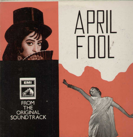April Fool 1960 Bollywood Vinyl LP- First Press