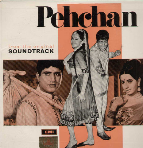 Pehchan 1970 Bollywood Vinyl LP- First Press