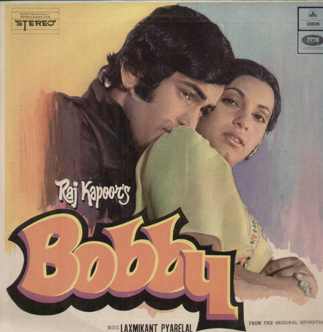 Bobby 1970 Bollywood Vinyl LP- First Press