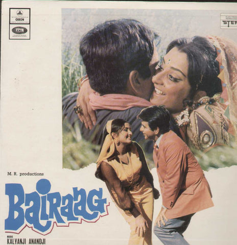 Bairaag 1976 Bollywood Vinyl LP- First Press