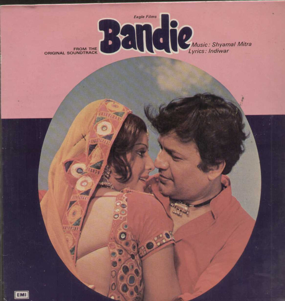Bandie 1970 Bollywood Vinyl LP