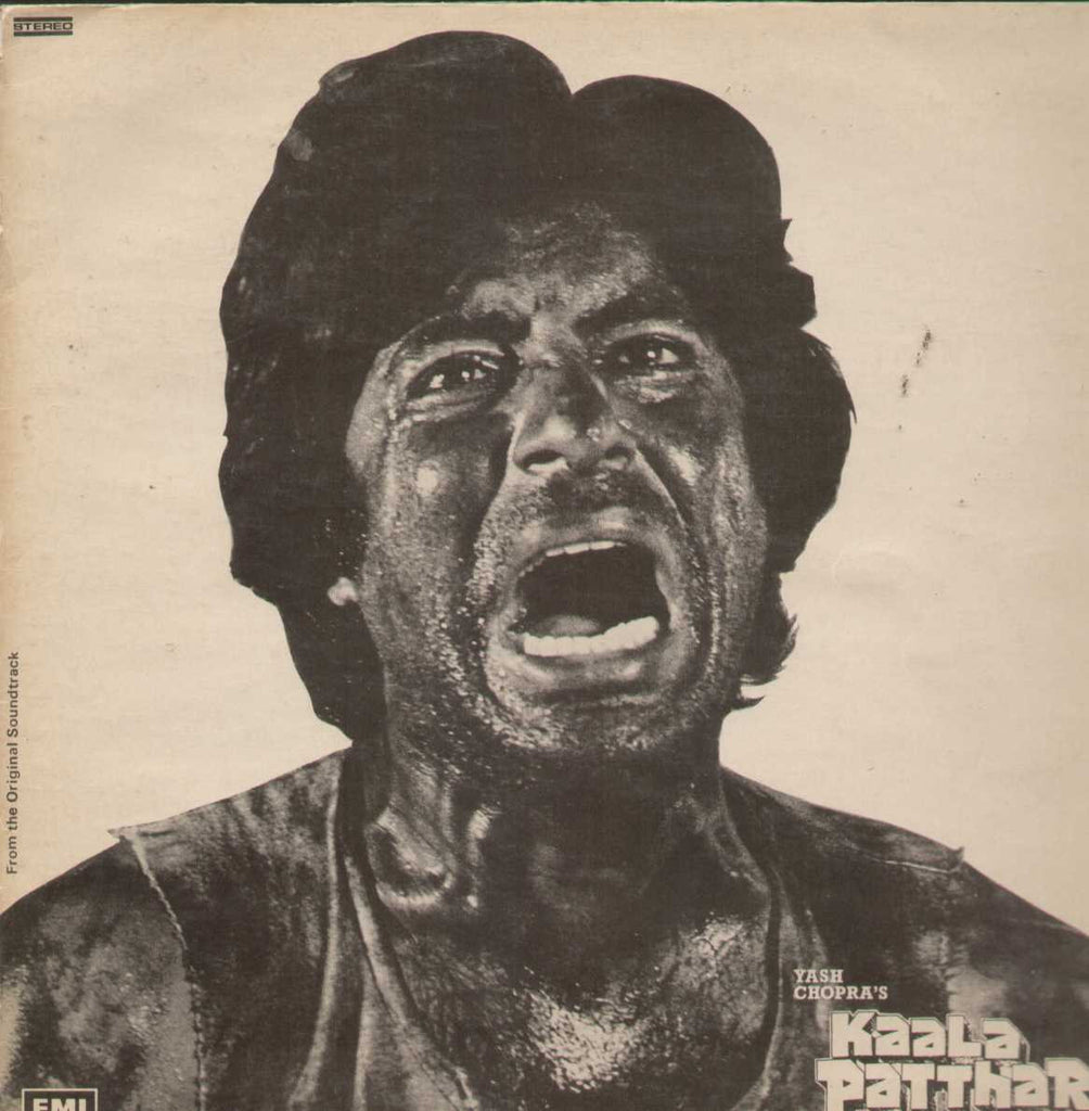 Kaala Patthar 1970 Bollywood Vinyl LP