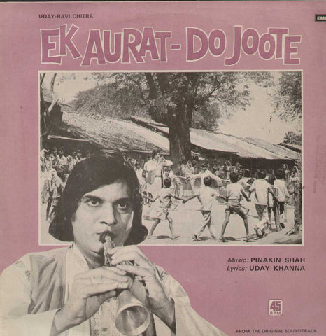 Ek Aurat- Do Joote 1978 Bollywood Vinyl LP