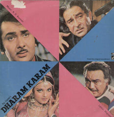 Dharam Karam 1975 Bollywood Vinyl LP