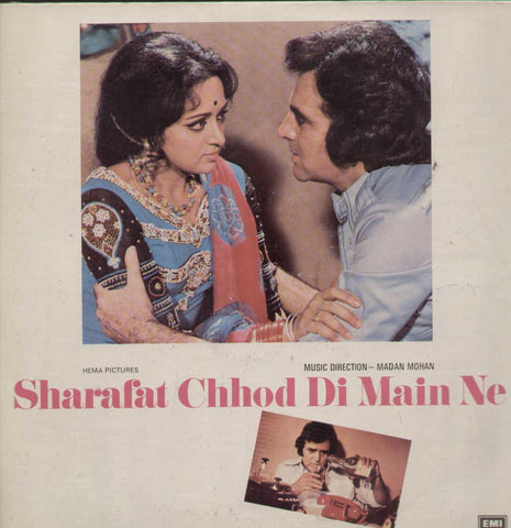 Sharafat Chhod Di Main Ne 1970 Bollywood Vinyl LP