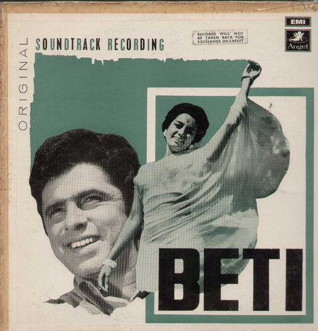 Beti 1960 Bollywood Vinyl LP
