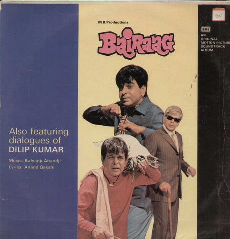 Bairaag 1970 Bollywood Vinyl LP