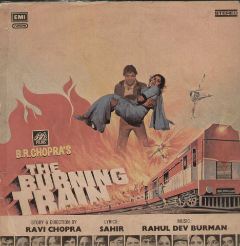 The Burning Train 1970 Bollywood Vinyl LP