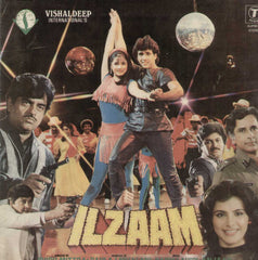 Ilzaam 1980 Bollywood Vinyl LP