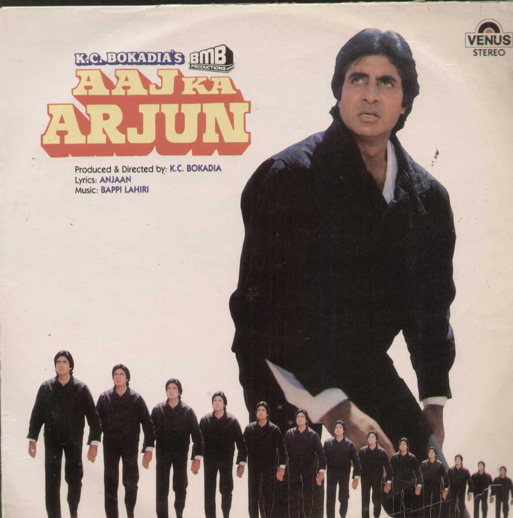 Aaj Ka Arjun 1990 Bollywood Vinyl LP