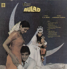 Aulad 1968 Bollywood Vinyl LP