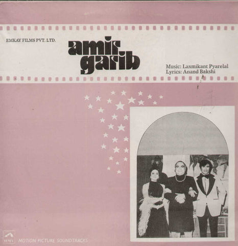 Amir Garib 1970 Bollywood Vinyl LP