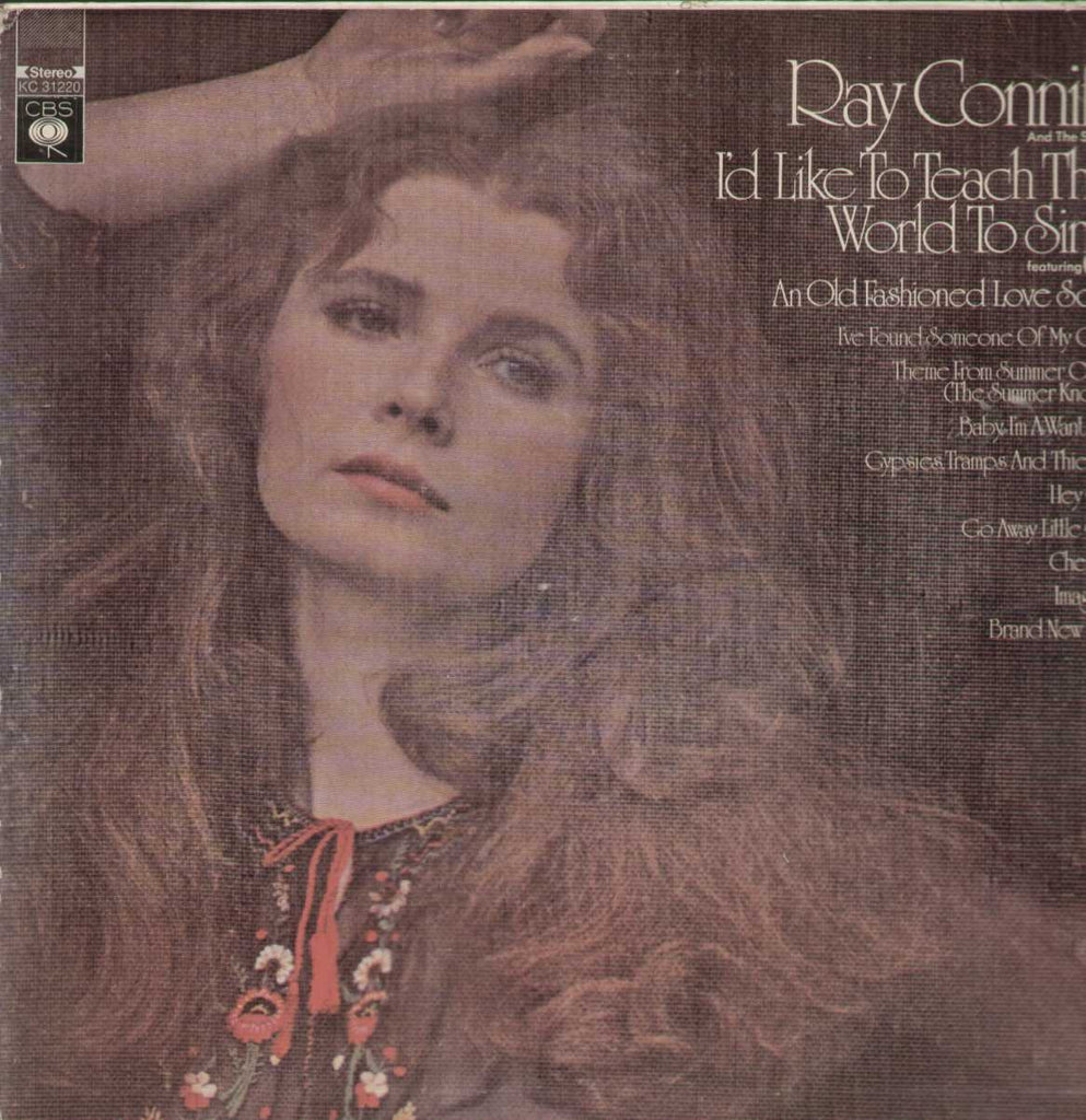 Ray Conniff Id Like To Teach The World To Sing English Vinyl LP