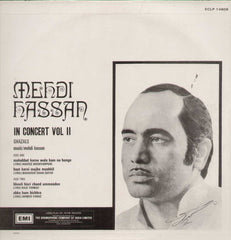 Mehdi Hassan In Concert Bollywood Vinyl LP