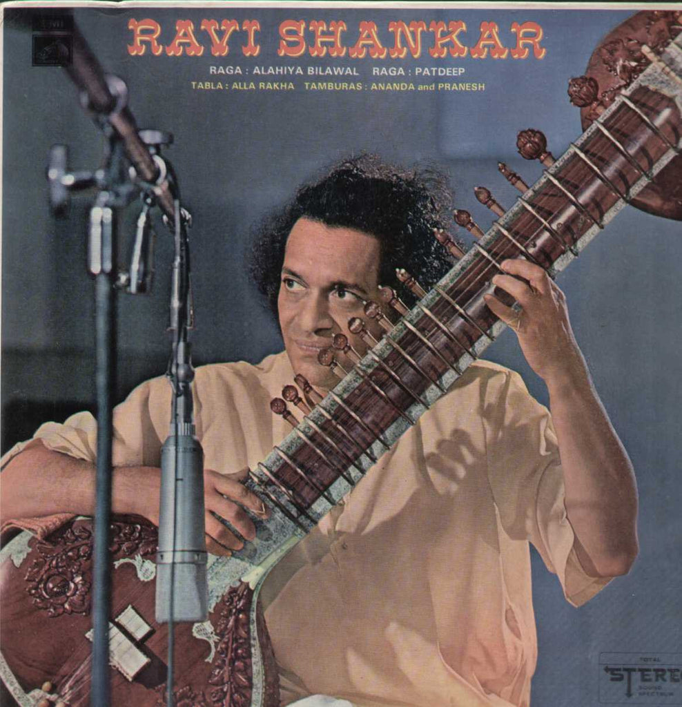 Ravi Shankar Sitar Bollywood Vinyl LP- First Press