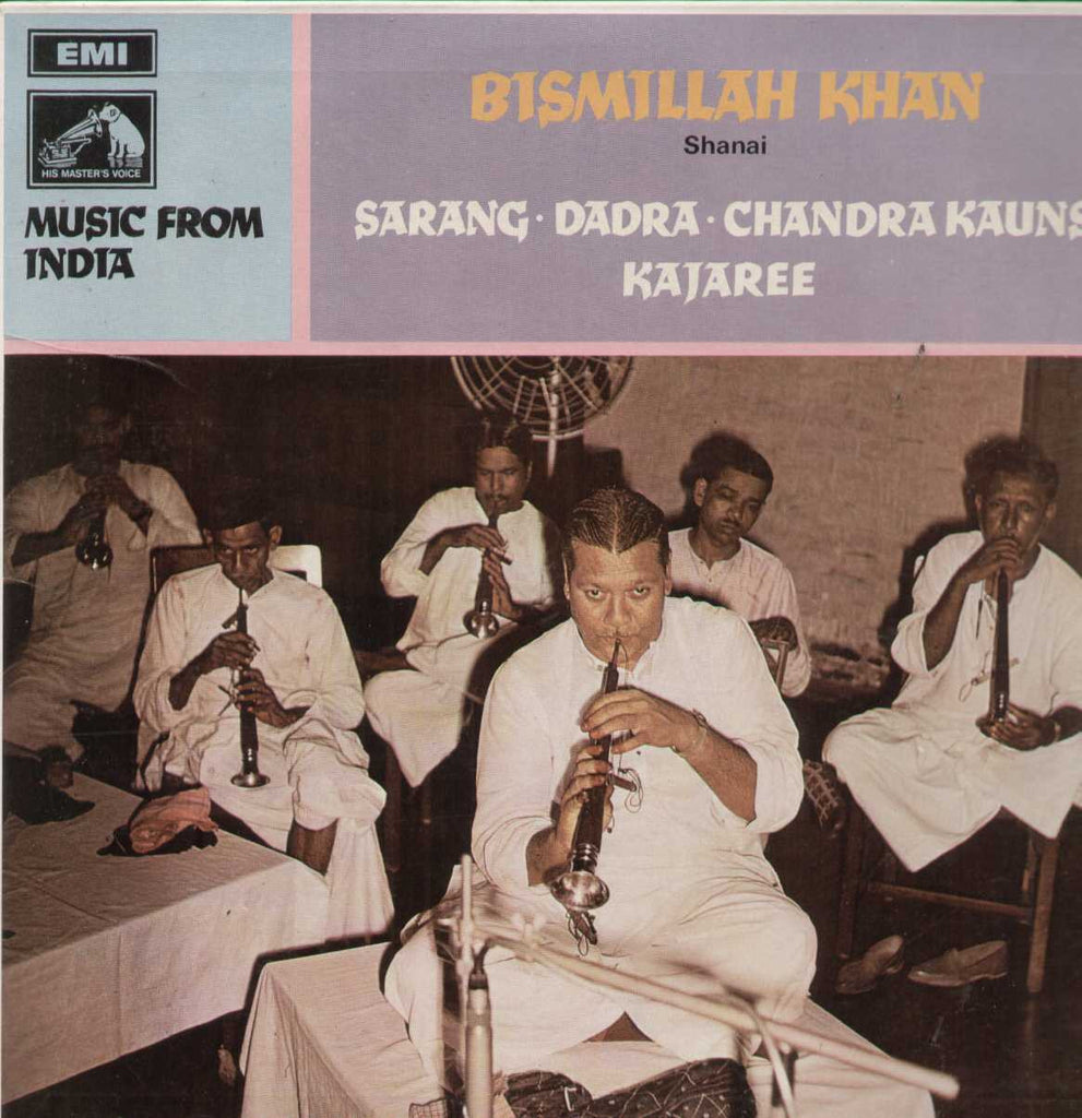 Bismillah Khan Bollywood Vinyl LP
