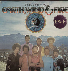 Open Our Eyes Earth, Wind And Fire English Vinyl LP