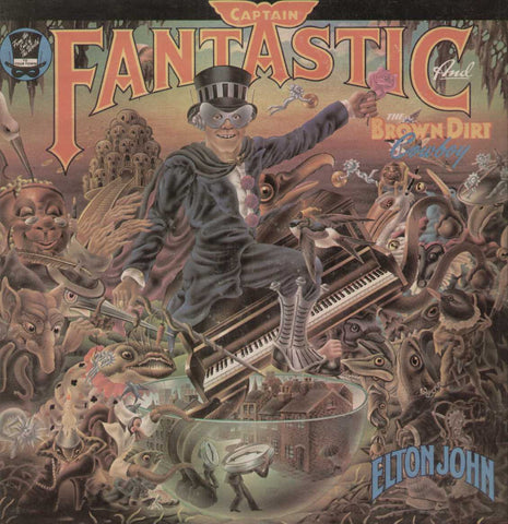 Captain Fantastic English Vinyl LP- First Press