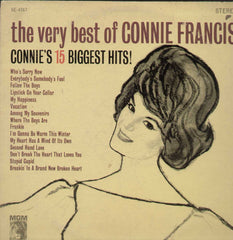 The Very Best Of Connie Francis English Vinyl LP