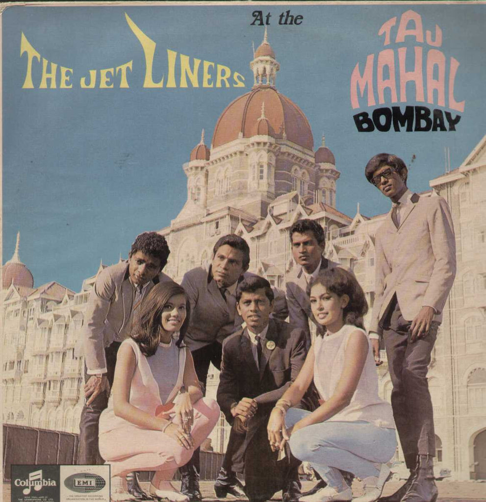 The Jet Liners At The Taj Mahal Bombay English Vinyl LP