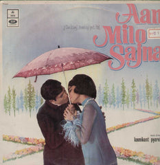 Aan Milo Sajna 1970 Bollywood Vinyl LP