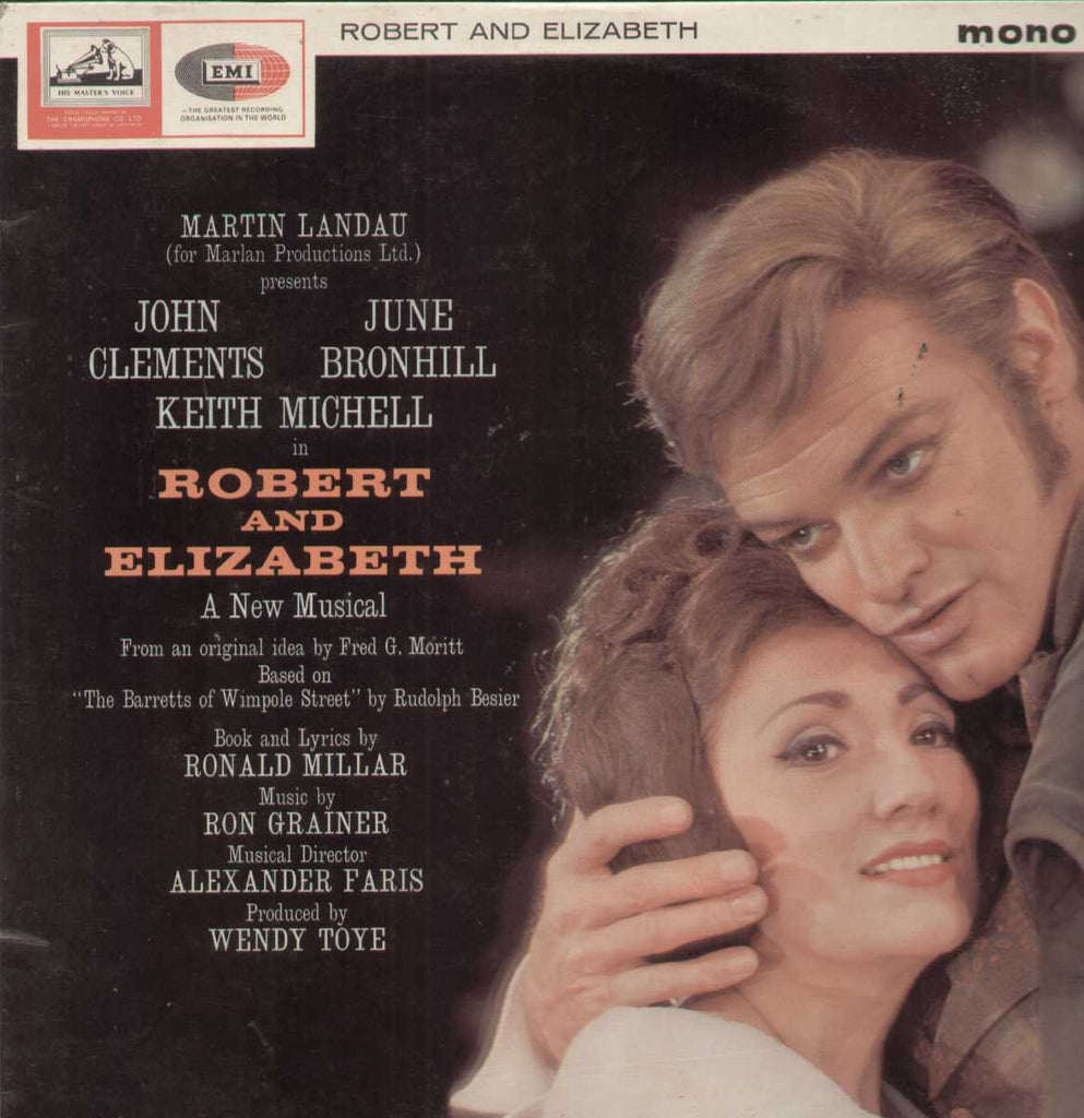 Robert And Elizabeth English Vinyl LP