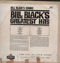 Bill Black's Greatest Hits English Vinyl LP