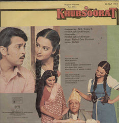 Khubsoorat 1980 Bollywood Vinyl LP