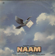 Naam 1986 Bollywood Vinyl LP