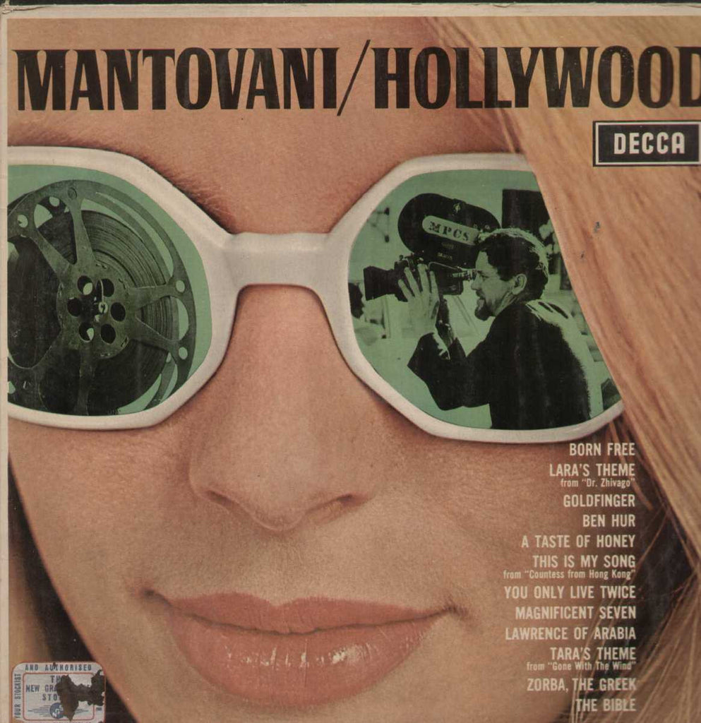 Mantovani / Hollywood English Vinyl LP