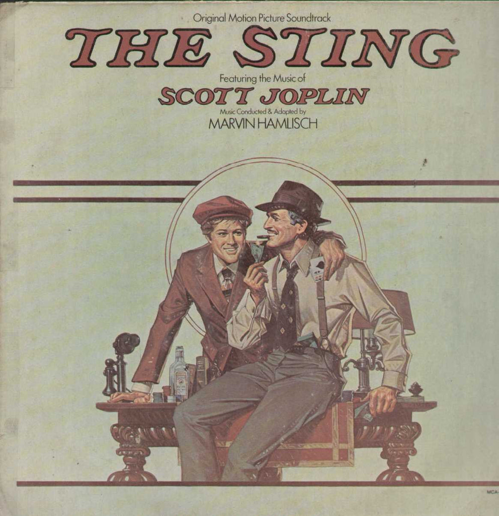The Sting English Vinyl LP