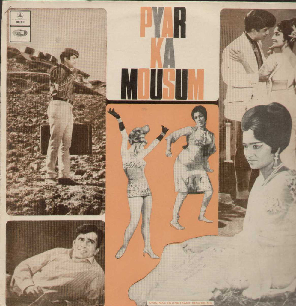 Pyar Ka Mousam 1969 Bollywood Vinyl LP