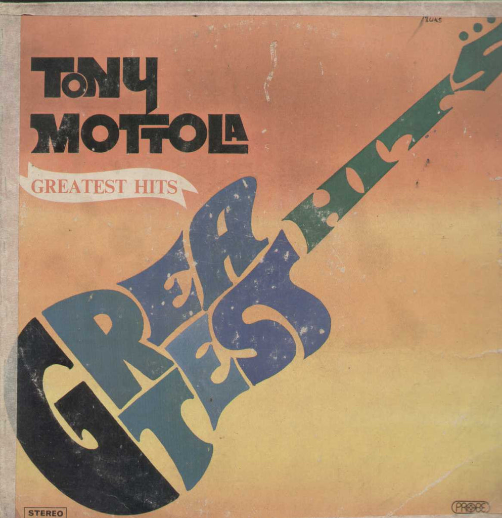 Tony Mottola Greatest Hits English Vinyl LP