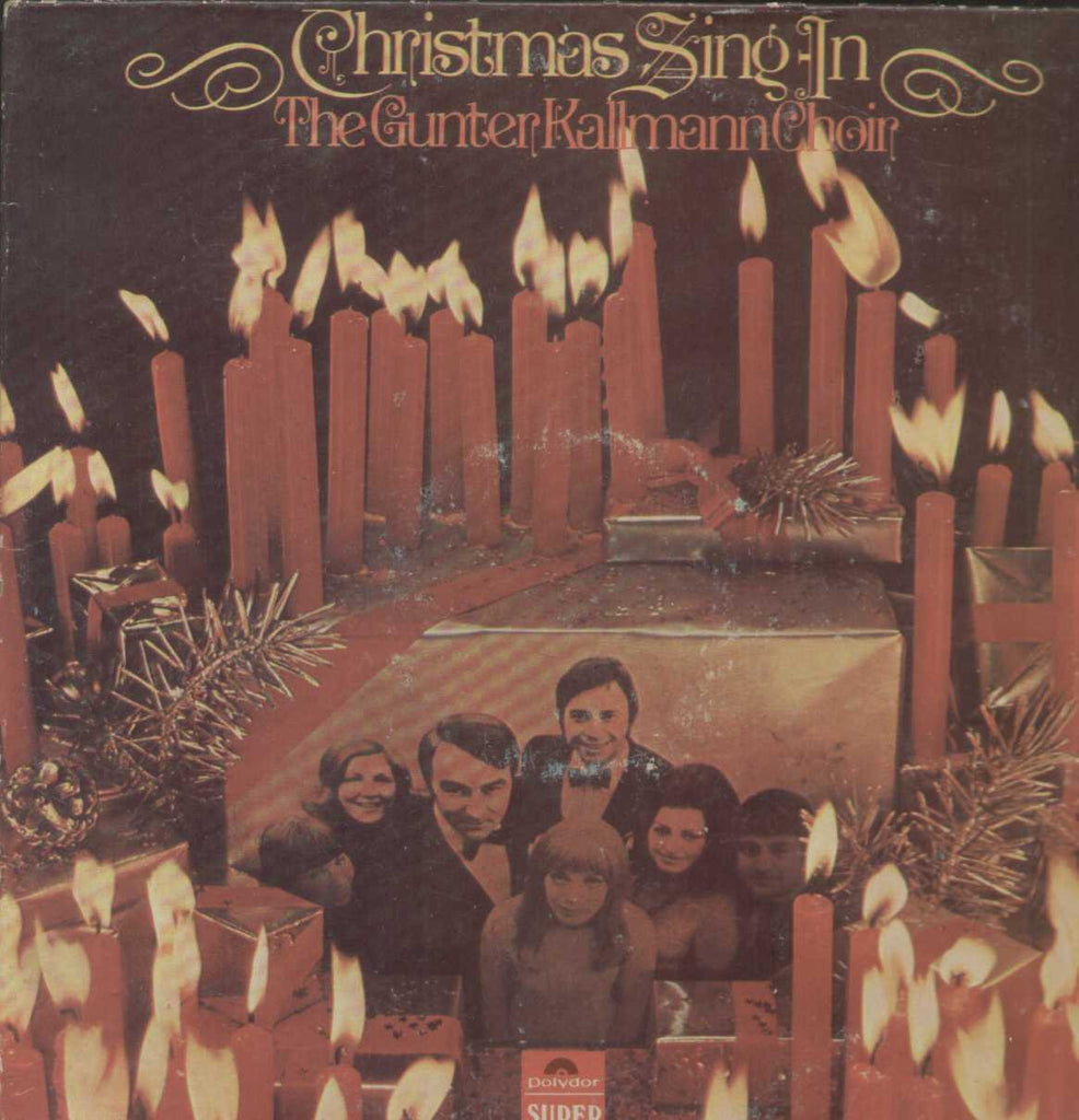 Christmas Sing In The Gunter Kallmann Choir English Vinyl LP