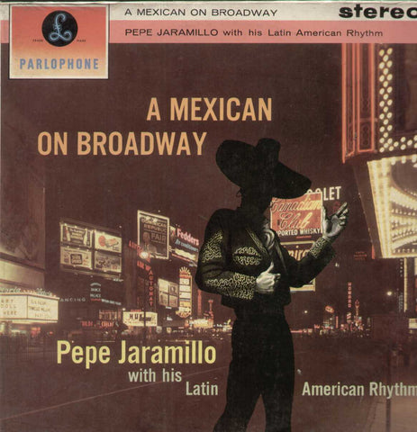 A Mexican On Broadway English Vinyl LP