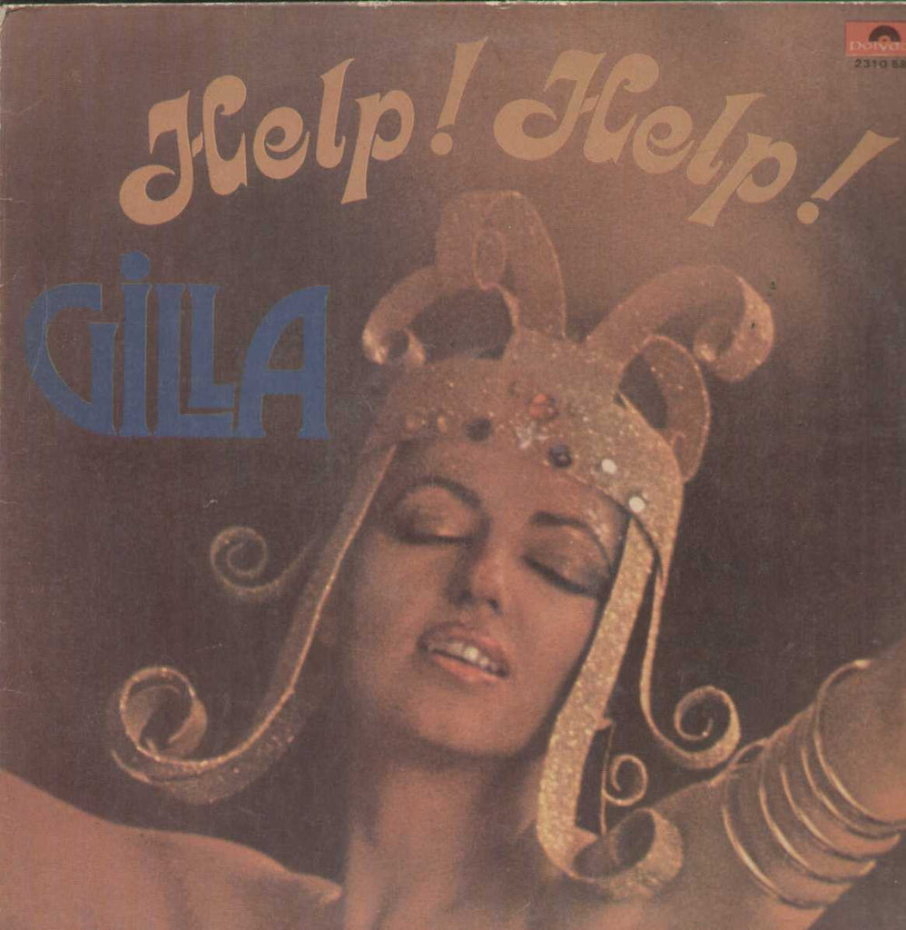 Help Help Gilla English Vinyl LP