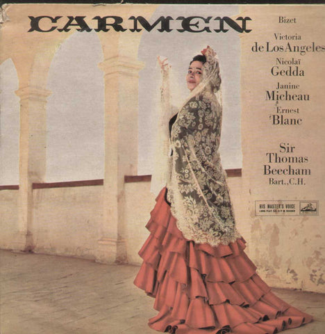 Bizet Carmen English Vinyl LP- First Press