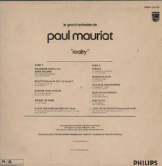 Le Grand Orchestre De Paul Mauriat Reality English Vinyl LP