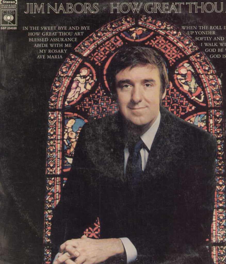 Jim Nabors. How Great Thou Art English Vinyl LP