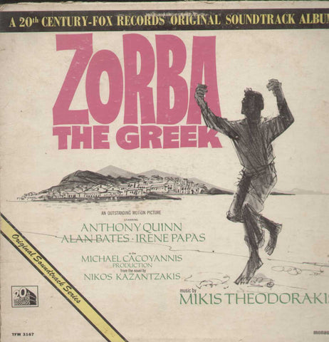 Zorba The Greek English Vinyl LP